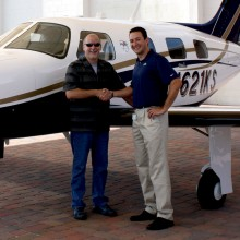 2012 Texas Piper News - Congratulations to New Piper Mirage Owner Kevin Sadler of Austin, TX - N621KS - John DeLawyer