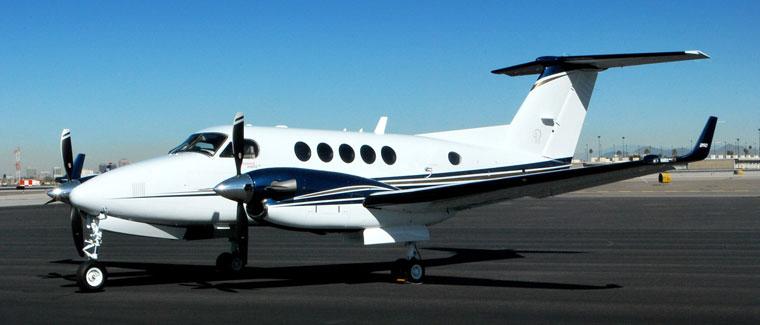 Beechcraft Super King Air 250 - Turboprop - Cutter Aviation Air Charter Fleet
