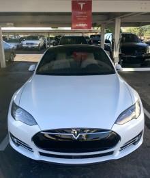 Tesla Charging Station - Cutter Aviation
