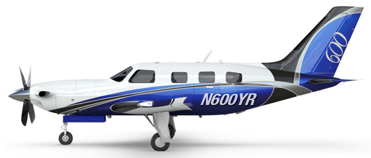 2017 Piper M600 - S/N: TBD - N600YR - Cutter Aircraft Sales