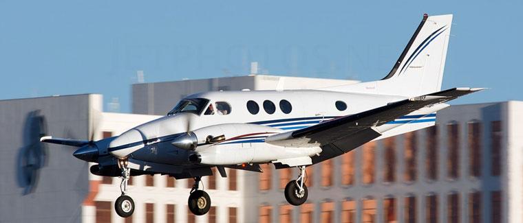 1999 Beechcraft C90B - S/N: LJ-1572 - N931GG