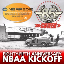 Cutter Aviation Kicks Off 85th Anniversary at Annual NBAA Convention in Orlando, FL - Press Release - October 23, 2012