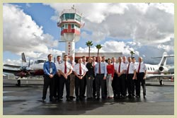 Cutter Aviation Air Charter / Cutter Flight Management Staff and Crew