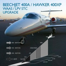 Cutter Aviation - Rockwell Collins - WAAS / LPV Upgrade STC for Beechjet 400A and Hawker 400XP