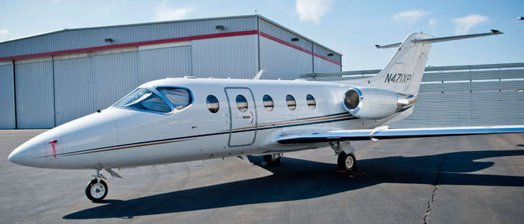 Hawker Beechcraft 400XP - N471XP - Cutter Aviation Air Charter Fleet