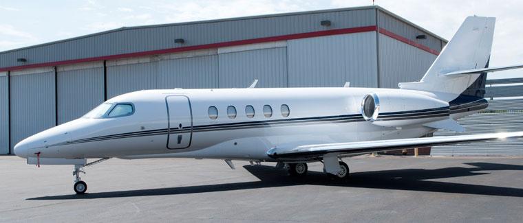 Cessna Latitude - N684DB - Cutter Aviation Air Charter Fleet