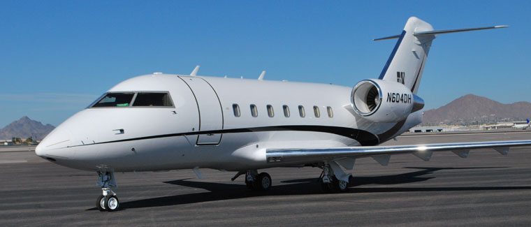 Challenger 604 - N604DH - Cutter Aviation Air Charter Fleet