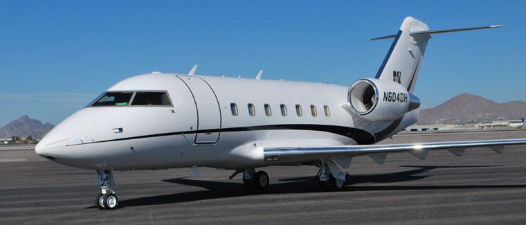 Challenger 604 - N604DH - Cutter Aviation Air Charter Fleet