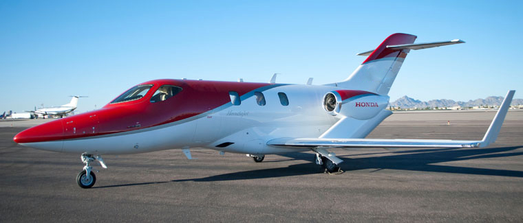 HondaJet HA-420 - Cutter Aviation Air Charter Fleet