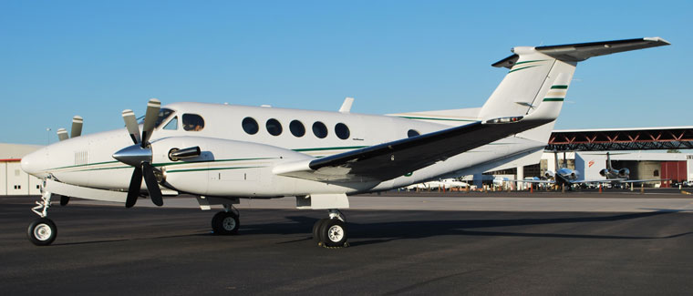 Beechcraft Super King Air 200 - Turboprop - Cutter Aviation Air Charter Fleet