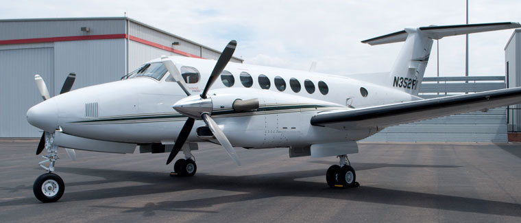 Beechcraft Super King Air 350 - N352PX - Cutter Aviation Air Charter Fleet