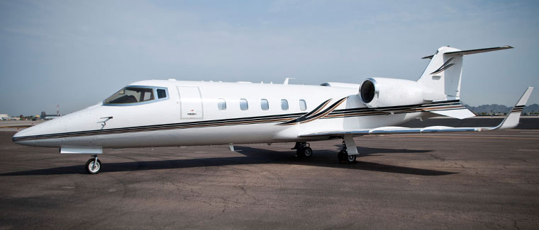 Cutter Aviation Charter LearJet 60 - N843CP -