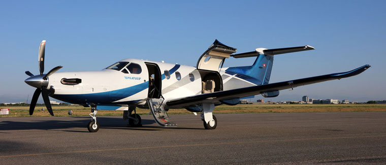 Cutter Aviation Charter - Pilatus PC-12 NG - N783NG