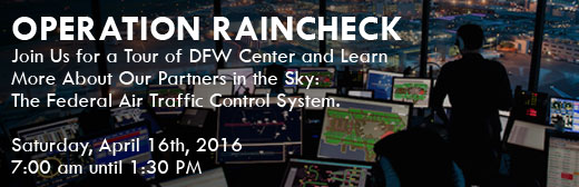 Cutter Texas Piper Sales - Operation Raincheck Tour of DFW TRACON and DFW Tower