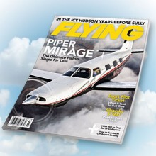 FLYING Magazine April 2011 Feature Article on the Piper Mirage Featuring Texas Piper Sales - Cutter Texas Piper - Cutter Piper Sales - Cutter Aviation