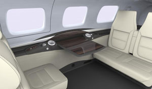 M600 Calais Interior - Cutter Aviation