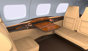 M600 Sedona Interior - Cutter Aviation