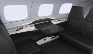 M600 Firenze Black Interior - Cutter Aviation