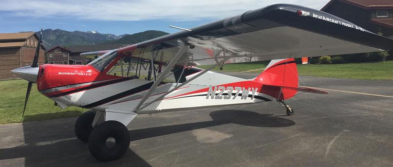 2015 Aviat Husky A-1C 200 - S/N: 3237 - N237WY - Cutter Aircraft Sales