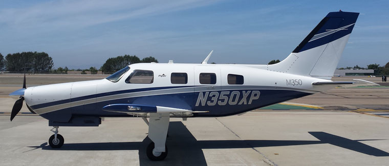 2015 Piper M350 - S/N: 4636652 - N350XP - Cutter Aircraft Sales