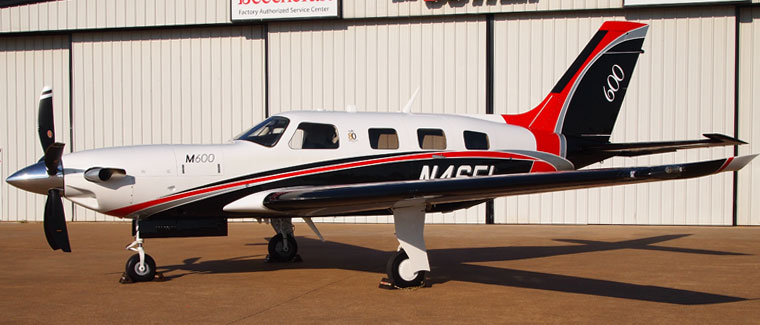 2017 Piper M600 - S/N: 4698046 - N46FL - Texas Piper Sales