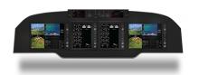Sandel Avilon King Air Panel - Cutter Aviation