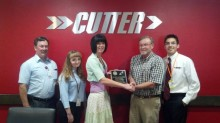 New Mexico Aviation presents Safety Pin Award to Cutter Aviation