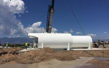 Fuel Farm Installation Cutter Aviation (COS)
