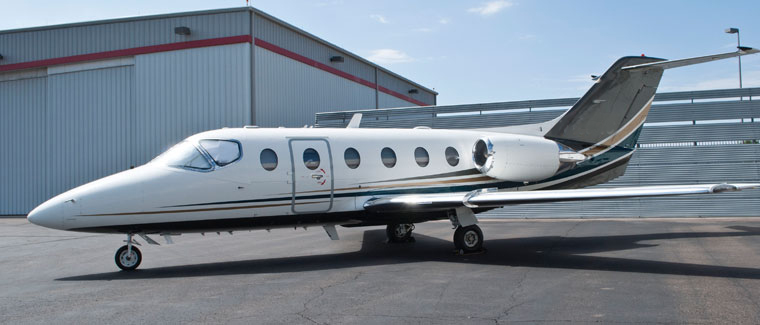Beechcraft Beechjet 400A - Cutter Aviation Air Charter Fleet