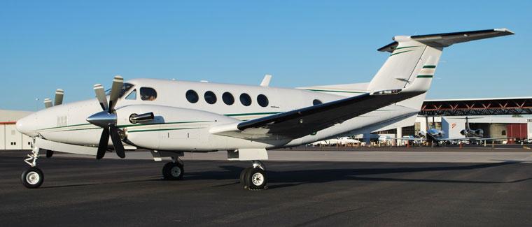 Beechcraft Super King Air 200 - Turboprop - Cutter Aviation Air Charter Fleet