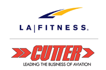 Cutter Aviation partnership with LA Fitness