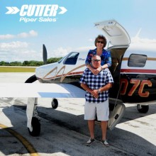 Darrell and Cindy Quinney - Congratulations on your new Piper Mirage from Cutter Piper Sales!