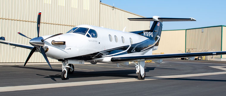 2018 Pilatus PC-12 NG - S/N: 1775 - N191PG - Cutter Aircraft Sales