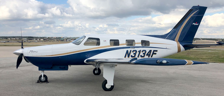 2012 Piper Malibu Matrix - S/N: 4692183 - N3134F - Cutter Aircraft Sales