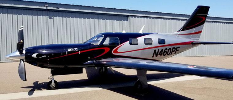 2018 Piper M600 - S/N: 4698066 - N460PF